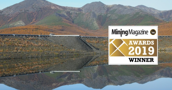Inmarsat's Tailings Dam Monitoring Solution Wins the Mining Magazine Editor's Award 2019