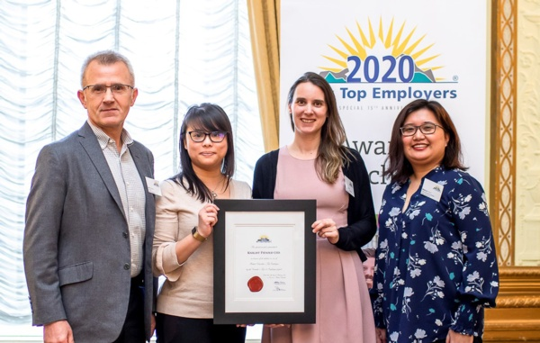 Knight Piésold Canada Recognized as a 2020 Top Employer in British Columbia