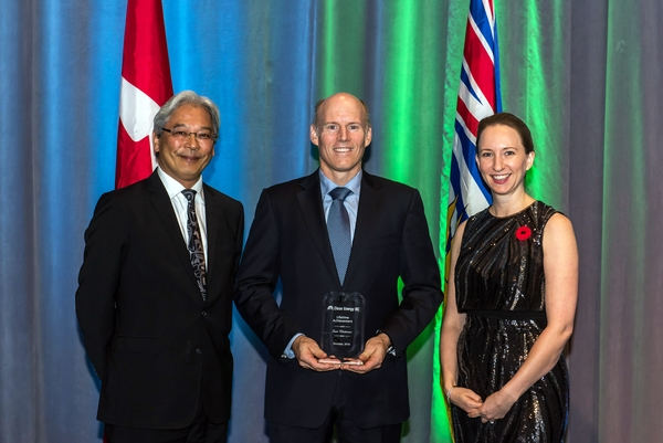 Sam Mottram Receives 2016 Lifetime Achievement Award from Clean Energy BC